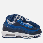 Мужские кроссовки Nike Air Max 95 Essential Dark Obsidian/Hyper Cobalt/Coastal Blue/Wolf Grey фото- 2
