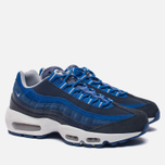 Мужские кроссовки Nike Air Max 95 Essential Dark Obsidian/Hyper Cobalt/Coastal Blue/Wolf Grey фото- 1