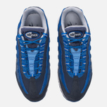 Мужские кроссовки Nike Air Max 95 Essential Dark Obsidian/Hyper Cobalt/Coastal Blue/Wolf Grey фото- 4