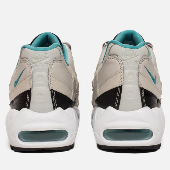 Мужские кроссовки Nike Air Max 95 Essential Light Bone/Sport Turquoise/Black/White