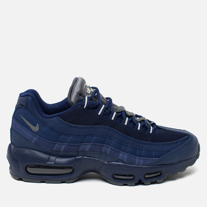 Мужские кроссовки Nike Air Max 95 Essential Royal Blue/Dark Grey/Light Bone