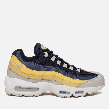 Мужские кроссовки Nike Air Max 95 Essential White/Lemon Wash/Tour Yellow/Vast Grey