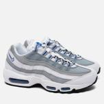 Nike Air Max 95 Essential Men's Sneakers White/Pure Platinum/Hyper Cobalt photo- 1
