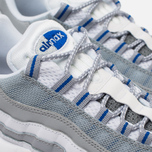 Мужские кроссовки Nike Air Max 95 Essential White/Pure Platinum/Hyper Cobalt фото- 3