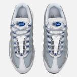 Nike Air Max 95 Essential Men's Sneakers White/Pure Platinum/Hyper Cobalt photo- 4