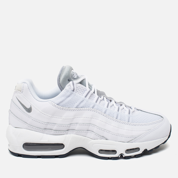 Мужские кроссовки Nike Air Max 95 Essential White/Wolf Grey/Obsidian