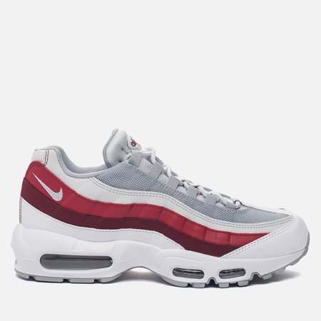 Мужские кроссовки Nike Air Max 95 Essential White/Wolf Grey/Pure Platinum/Team Red