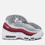 Мужские кроссовки Nike Air Max 95 Essential White/Wolf Grey/Pure Platinum/Team Red фото- 1
