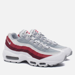 Мужские кроссовки Nike Air Max 95 Essential White/Wolf Grey/Pure Platinum/Team Red фото- 2
