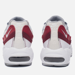 Мужские кроссовки Nike Air Max 95 Essential White/Wolf Grey/Pure Platinum/Team Red фото- 3
