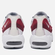nike air max 1 essential wolf grey team red white