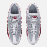 Мужские кроссовки Nike Air Max 95 Essential White/Wolf Grey/Pure Platinum/Team Red фото- 4
