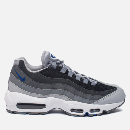 Мужские кроссовки Nike Air Max 95 Essential Wolf Grey/Black/Dark Grey/Game Royal