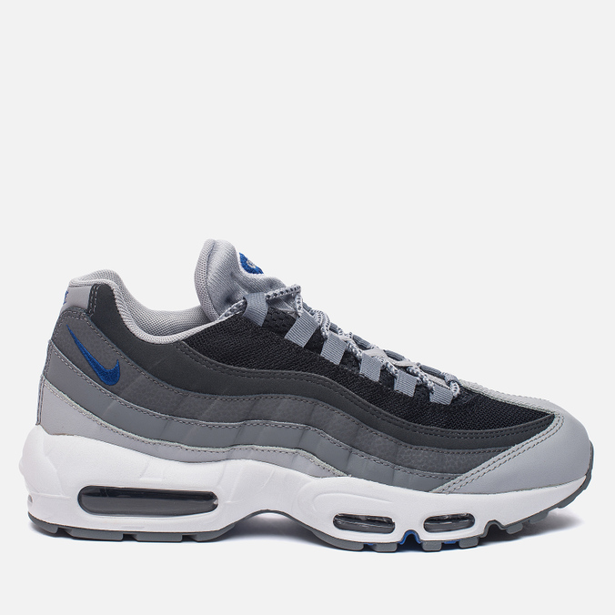 Мужские кроссовки Nike Air Max 95 Essential Wolf Grey/Black/Dark Grey/Game Royal