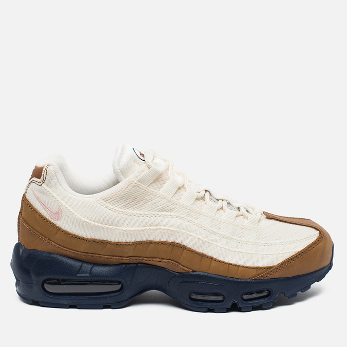 Мужские кроссовки Nike Air Max 95 Premium Ale Brown/Midnight Navy/Sail/Pearl Pink