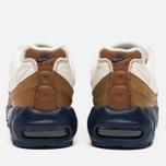 Nike Air Max 95 Premium Ale Men's Sneakers Brown/Midnight Navy/Sail/Pearl Pink photo- 4