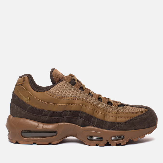 purchase cheap df305 84f2d Мужские кроссовки Nike Air Max 95 Premium Baroque BrownGolden BeigeAle  Brown ...