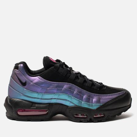Мужские кроссовки Nike Air Max 95 Premium Black/Black/Laser Fuchsia