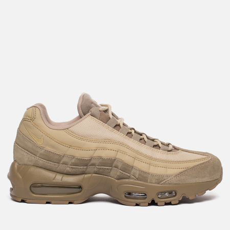 Мужские кроссовки Nike Air Max 95 Premium Khaki/Team Gold/Mushroom/Canteen