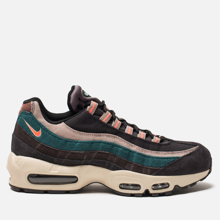 Мужские кроссовки Nike Air Max 95 Premium Oil Grey/Bright Mango/Thunder Grey