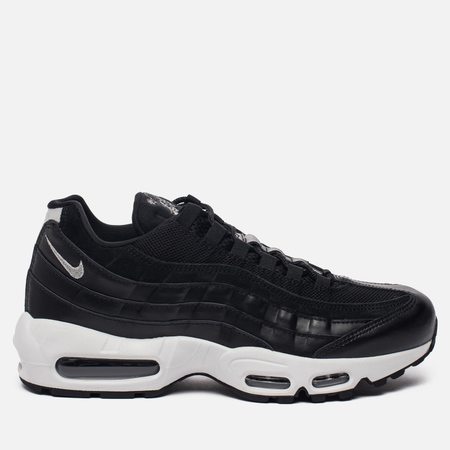 Мужские кроссовки Nike Air Max 95 Premium Rebel Skulls Black/Chrome/Black/Off White