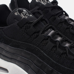 Мужские кроссовки Nike Air Max 95 Premium Rebel Skulls Black/Chrome/Black/Off White фото- 3