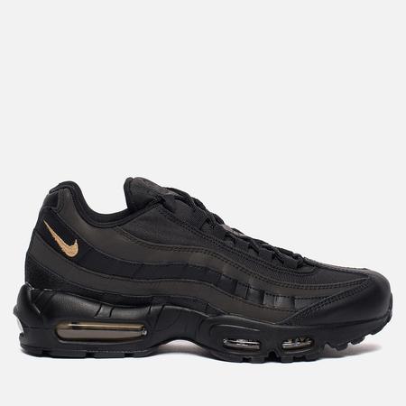 Мужские кроссовки Nike Air Max 95 Premium SE Black/Metallic Gold