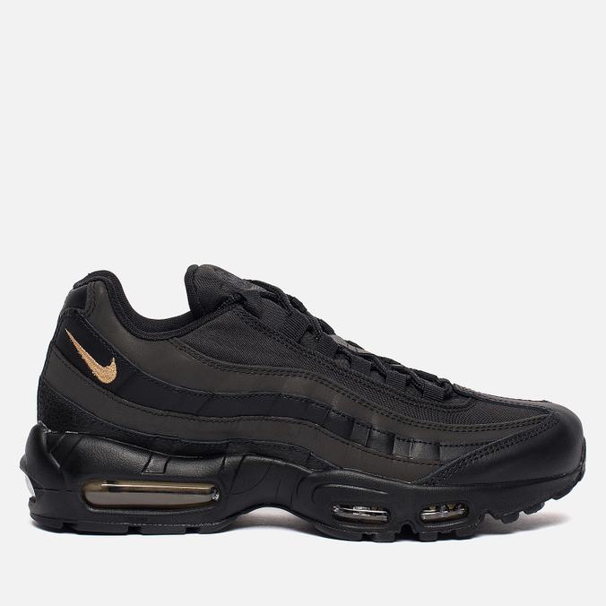 Мужские кроссовки Nike Air Max 95 Premium SE Black/Metallic Gold
