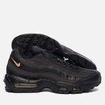 Мужские кроссовки Nike Air Max 95 Premium SE Black/Metallic Gold фото- 1
