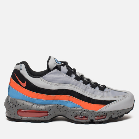 Мужские кроссовки Nike Air Max 95 Premium Wolf Grey/Safety Orange