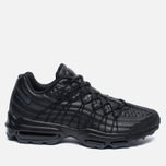 Мужские кроссовки Nike Air Max 95 SE Premium Triple Black фото- 0