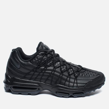 Мужские кроссовки Nike Air Max 95 SE Premium Triple Black