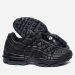 Мужские кроссовки Nike Air Max 95 SE Premium Triple Black фото- 2