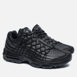 Мужские кроссовки Nike Air Max 95 SE Premium Triple Black фото- 1