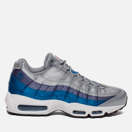 Мужские кроссовки Nike Air Max 95 SE Wolf Grey/Blue Nebula/Purple Slate/White