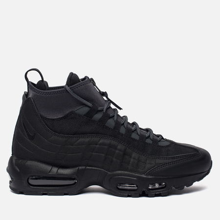 Мужские зимние кроссовки Nike Air Max 95 Sneakerboot Black Anthracite White d2a4757afec