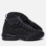 Мужские зимние кроссовки Nike Air Max 95 Sneakerboot Black/Anthracite/White фото- 2