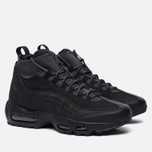 Мужские зимние кроссовки Nike Air Max 95 Sneakerboot Black/Anthracite/White фото- 1
