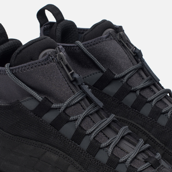 Мужские зимние кроссовки Nike Air Max 95 Sneakerboot Black/Anthracite/White