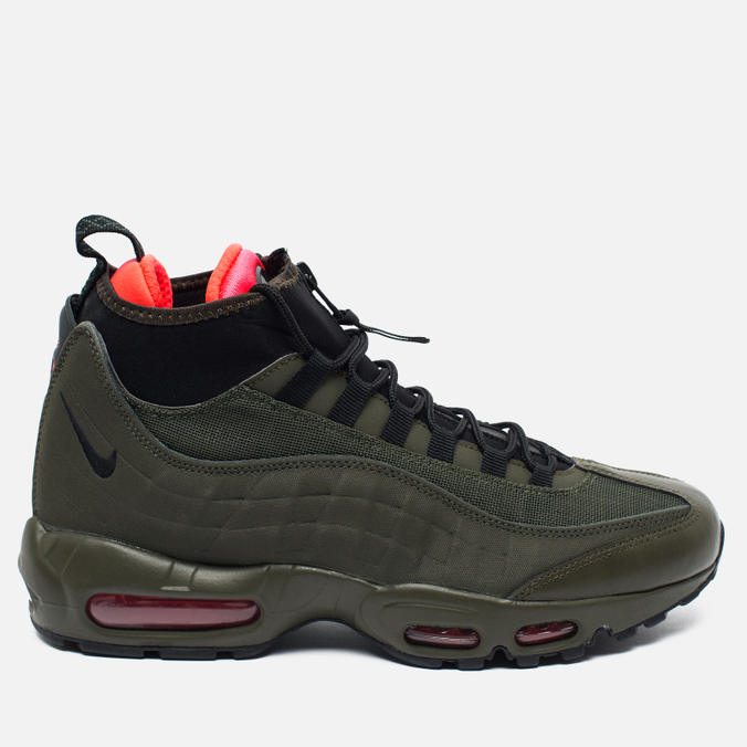 Мужские зимние кроссовки Nike Air Max 95 Sneakerboot Dark Loden/Cargo Khaki/Bright