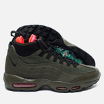 Мужские зимние кроссовки Nike Air Max 95 Sneakerboot Dark Loden/Cargo Khaki/Bright фото- 2