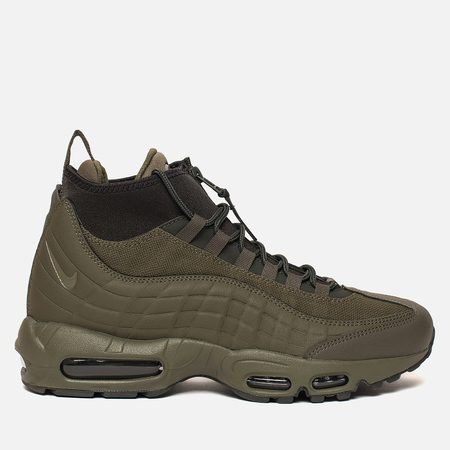 Мужские зимние кроссовки Nike Air Max 95 Sneakerboot Medium Olive/Sequoia/Sail