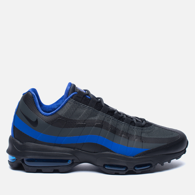 Мужские кроссовки Nike Air Max 95 Ultra Essential Black/Paramount Blue/Anthracite