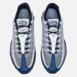 Мужские кроссовки Nike Air Max 95 Ultra Essential Coastal Blue/Pure Platinum фото- 4