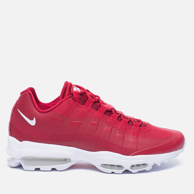 Мужские кроссовки Nike Air Max 95 Ultra Essential Gym Red/White/White