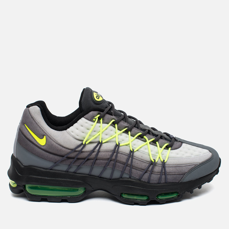 Мужские кроссовки Nike Air Max 95 Ultra SE Dark Grey/Volt