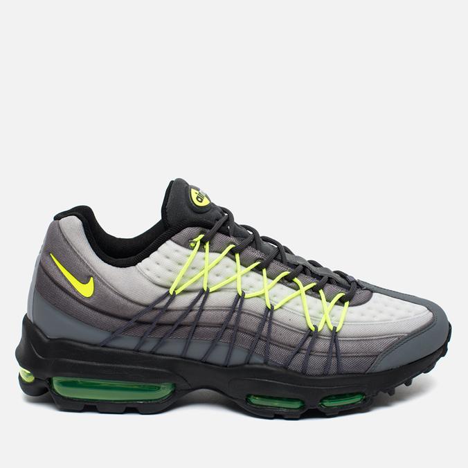 0319fbcc0b9351 Мужские кроссовки Nike Air Max 95 Ultra SE Dark Grey Volt 845033-007