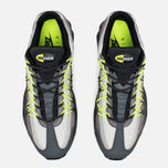 Мужские кроссовки Nike Air Max 95 Ultra SE Dark Grey/Volt фото- 4