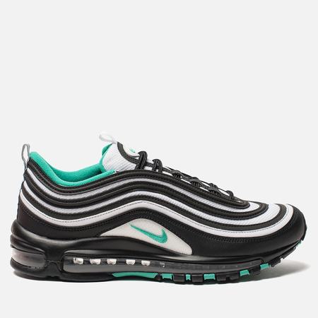 Мужские кроссовки Nike Air Max 97 Black/Clear Emerald/White