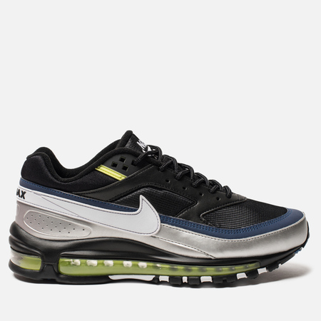 Мужские кроссовки Nike Air Max 97 BW Black/White/Metallic Silver